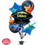 Grad Celebration Bouquet 5pc