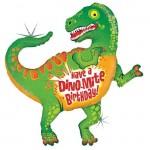 """Betallic Have A Dino-Mite 47"""" Inch Dinosaur Birthday Balloon"""