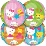 "Hello Kitty Orbz Ultra Shape 17"" Balloon ~ 4 side Panels"