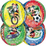 "Mickey Mouse Orbz Ultra Shape 17"" Balloon ~ 4 side Panels"