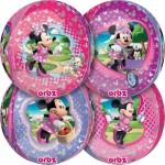"Minnie Mouse Orbz Ultra Shape 17"" Balloon ~ 4 side Panels"