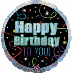 Anagram 18 Inch HOLO Brilliant Birthday Balloon