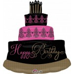 Anagram 28 x 32 Inch Giant Fabulous Celebration Cake