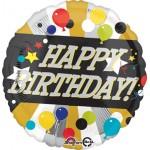Anagram 17 Inch Happy Birthday Blasty Balloon