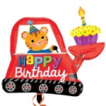 "Anagram 31"" Inch Birthday Digger Cupcake Balloon"