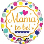 "Anagram 18"" Inch Mama to be Baby Shower Balloon"
