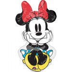 """Anagram 34"""" Inch Minnie Rock the Dots Supershape"""
