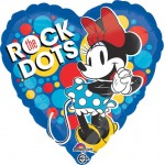 "Anagram 18"" Inch Minnie Rock the Dots Party Balloon"