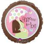 Anagram 18 Inch Mum To Be Baby Shower Round Balloon