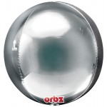 Anagram Orbz Silver Balloon