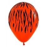 "Sempertex 12"" Inch AO Tiger Orange ~ 10pcs"