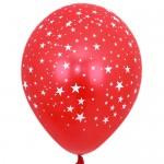 """Mytex 12"""" Inch AO Stars Red ~ 10pcs"""