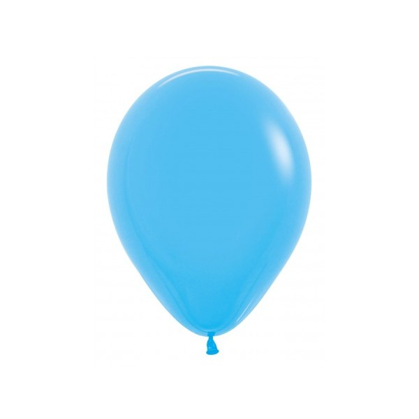Sempertex 12 Inch Standard Solid Blue Round Balloon 040 ~ 100pcs