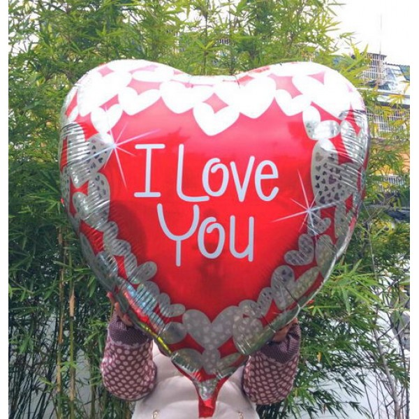Love & Affection - Mytex 36 Inch I Love You Heart Shaped Balloon