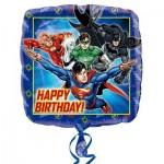 Anagram 17 inch Justice League Happy Birthday