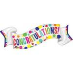 "Anagram 40"" Inch Supershape Congratulations Banner Balloon"