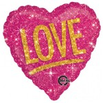 Anagram 17 inch Love Shimmers