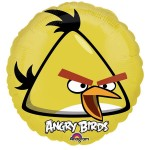 "Anagram 17"" Inch Angry Bird Yellow Balloon"