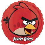 Anagram 17 inch Angry Bird Red Balloon