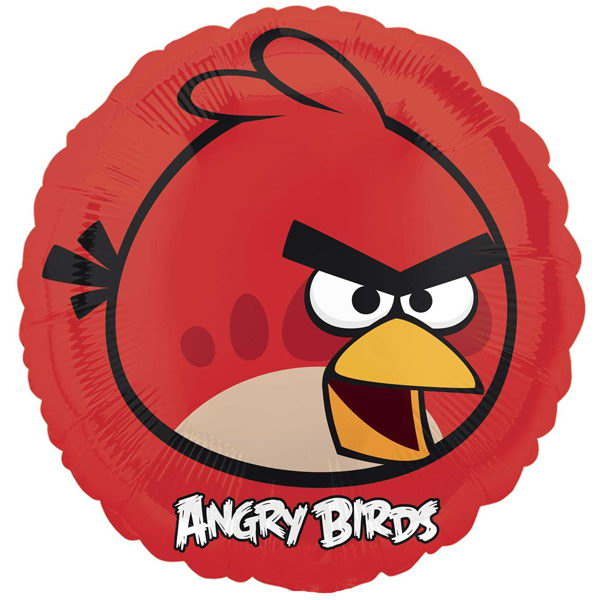 Character Balloons - Anagram 17 inch Angry Bird Red Balloon