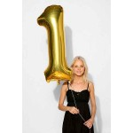 Numbers Balloons - 40 Inch Gold Giant Number Foil Balloons 0-9
