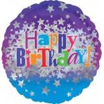Anagram 18 inch Happy Birthday Bright Stars