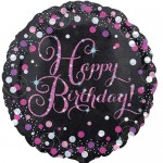 Anagram 18 inch Pink Celebration Balloon