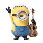 Anagram  26 x 28 Inch Despicable Me Minion & Guitar