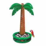 Amscan 6 ft Jumbo Palm Tree Inflatable Drinks Cooler
