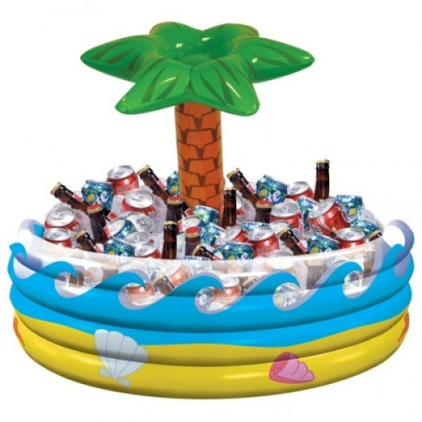 Decoration Item - Amscan 28.5 x 26.5 inch Palm Tree Inflatable Cooler