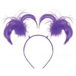 Amscan Ponytail Headband ~ Purple