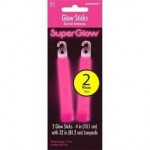 Amscan Glow Stick 4 in. - Pink