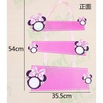 Decoration Item - Welcome Door Sign For Party ~ Blue/Pink