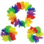 Amscan Hawaiian Rainbow Accessory ~ 3pcs