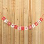 Mytex Korea Style Happy Birthday Banner
