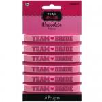 Amscan Team Bride Bracelets 6pcs