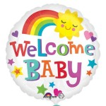 Anagram 17 inch Welcome Baby Bright & Bold