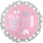 CTI 17 inch It's A Girl Baby Icons