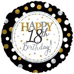 CTI 17 inch Happy 18th Birthday