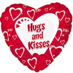 CTI 17 inch Hugs and Kisses Red