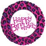 CTI 17 inch Birthday Animal Print