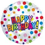 CTI 17 inch Happy Birthday Treat