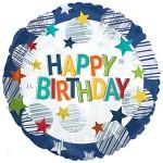 CTI 17 inch Happy Birthday Boy