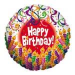 Betallic 18 inch Candle Birthday Balloon