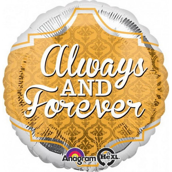 Wedding & Anniversary - Anagram 17 inch Infinite Marriage Blessings