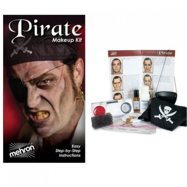 Mehron Halloween / Character Makeup Kits - Mehron Character Makeup Kit - Pirate