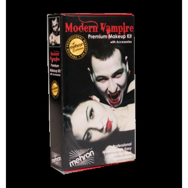 Mehron Halloween Character Makeup Kits - Mehron Character Makeup Kit - Modern Vampire