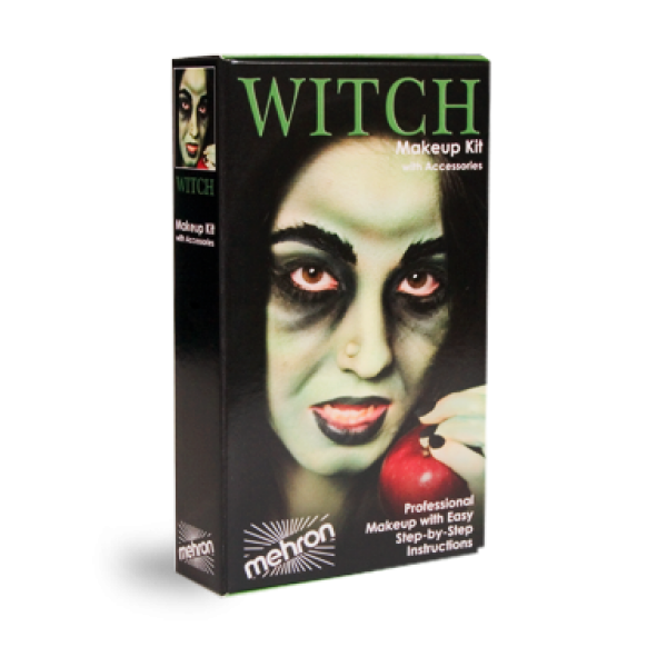 Mehron Halloween Character Makeup Kits - Mehron Character Makeup Kit - Witch