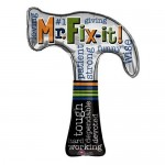 Anagram 35 x 28 inch Mr. Fix-it Hammer