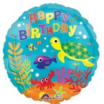 Anagram 17 inch Under the Sea Happy Birthday